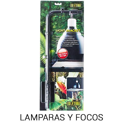 lampara y focos UV para iguanas y reptiles