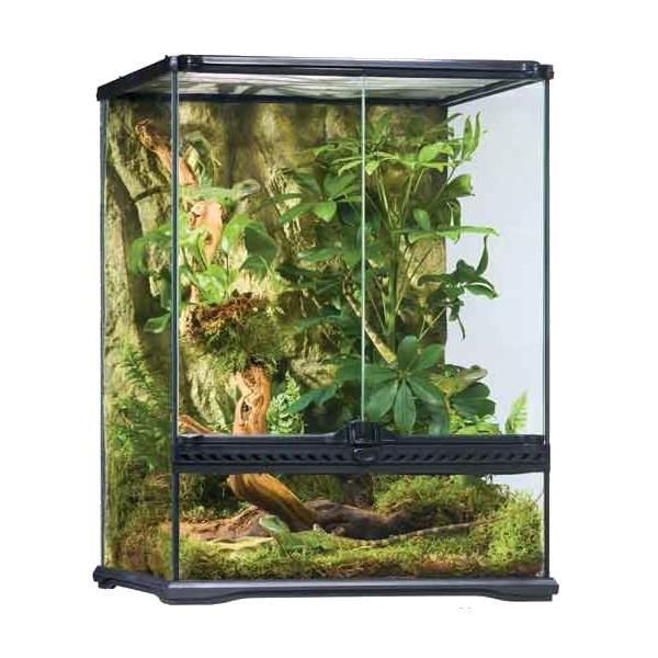 EXO TERRA HABITAT KIT terrarios para las iguanas modelos Nuevos de cristal