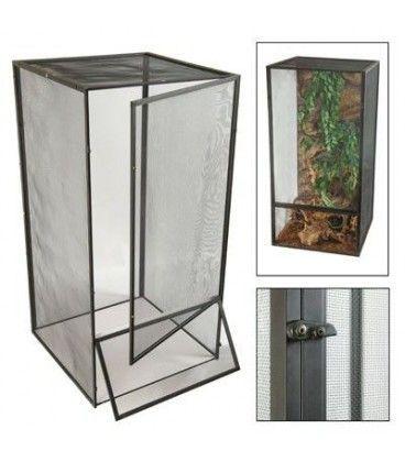 ¿Puedo poner un habitat para iguanas afuera en el exterior?