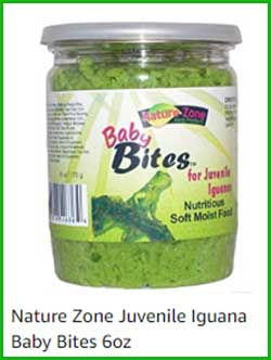 Alimento para iguana BeBe