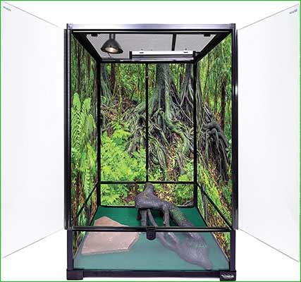 Terrario para iguana - Carolina Custom Jaulas Terrarium, Extra Tall
